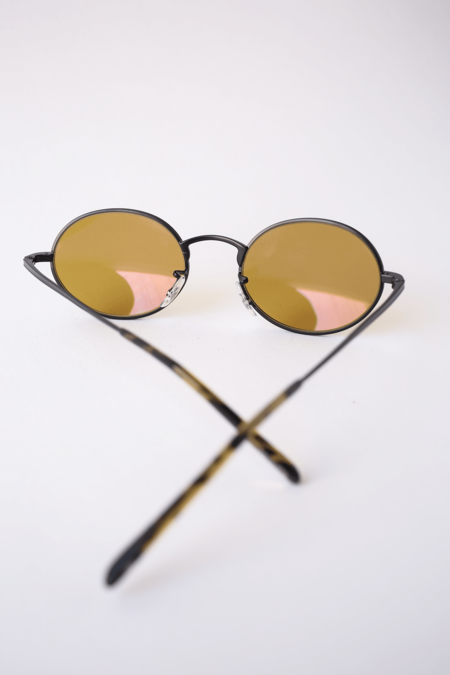 Oliver Peoples The Row Empire Suite - Matte Black/Deep Amber