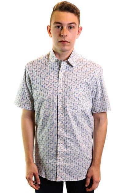 Santiago Shirt Co. Santiago Valparaiso Print Shirt - White