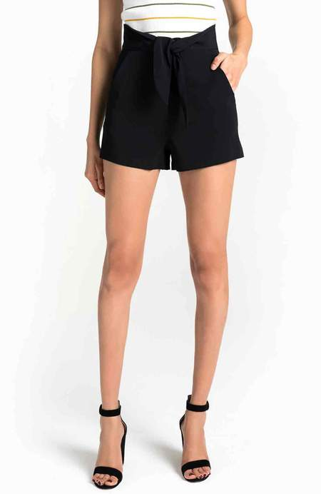 A.L.C. Kerry Shorts - BLACK