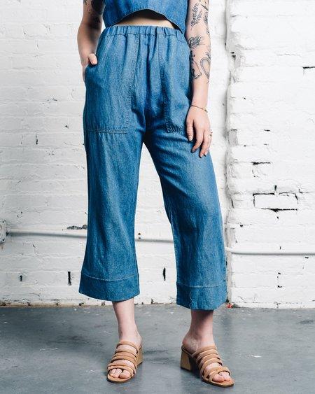 Micaela Greg Utility Pant - Sun Wash Fade