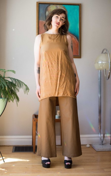 We Are Stories Copper Dress