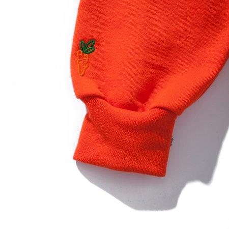 Carrots Wordmark Hoodie - Burnt Orange