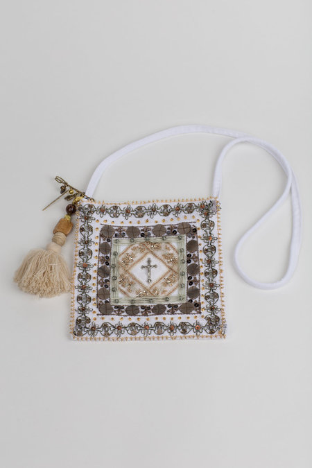 hyeinseo Cross Body Bag With Keyring - Off White