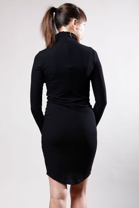 LNA Letta Dress - Black