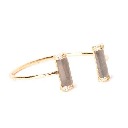 Marcia Moran Dali Double Stone Bracelet