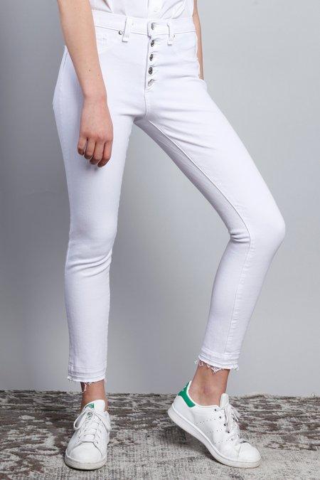 Veronica Beard Debbie Skinny Jeans - White