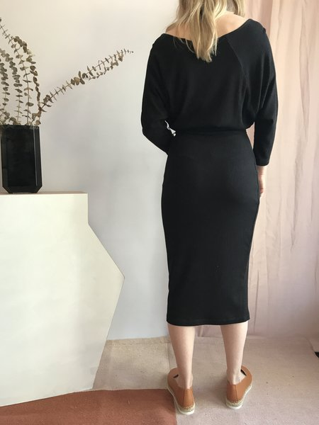 Eve Gravel Les Noces Dress - Noir