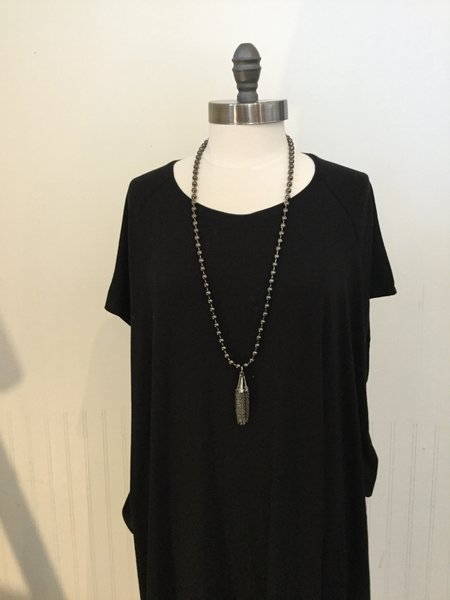 David Galan Tassel Necklace