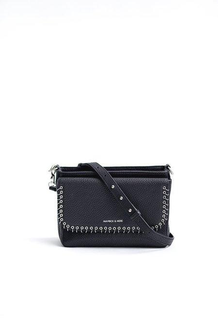 Mavrick & Mere Maddox Bag - Black/Silver
