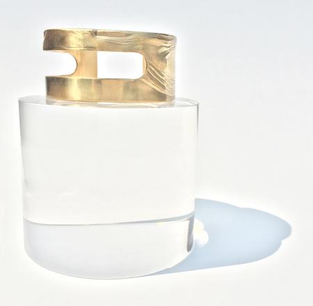 Leigh Miller Brass Cutout Bracelet