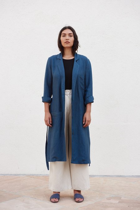 First Rite Clothing Belted Overcoat
