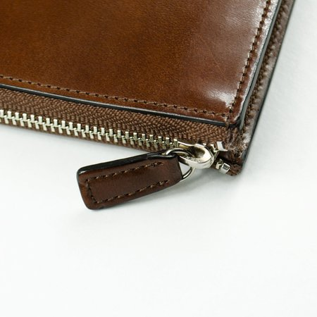 Il Bussetto Isola Zipped Wallet - Brown