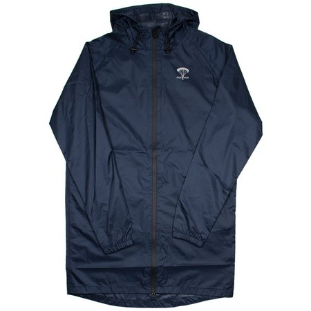Packmack #300 Parka Full Zip Raincoat - Navy