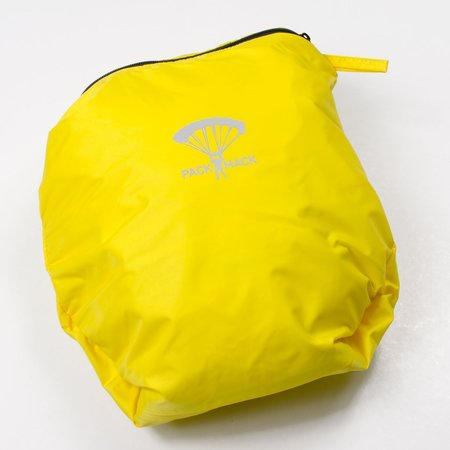Packmack #400 Parachute Full Zip Rain Jacket - Yellow Cab