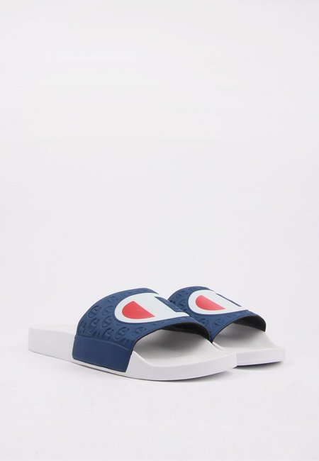 Champion Europe Slide - White/Navy