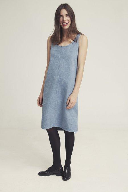 Ursa Minor Studio Chao Denim Dress - Blue