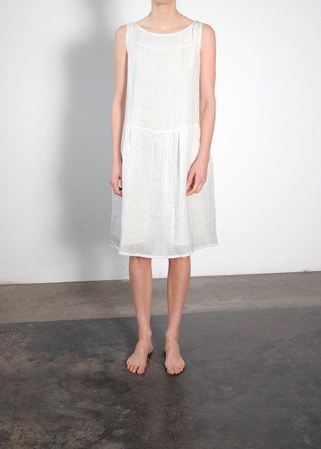 Ursa Minor Studio Degas Dress - Ivory Linen
