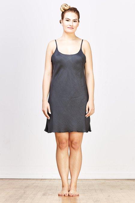 CP SHADES Nora Rayon/Silk Short Slip Dress - River Rock