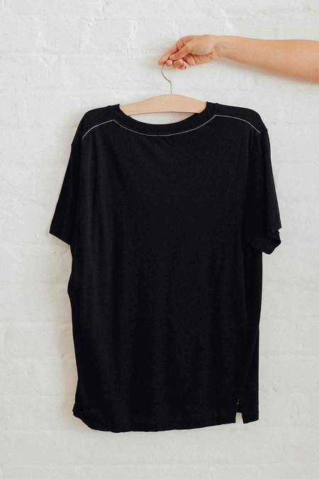 Bassike Classic Vintage T Shirt - Black