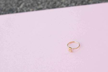 Lucy Folk Cluster Ring - Yellow Gold