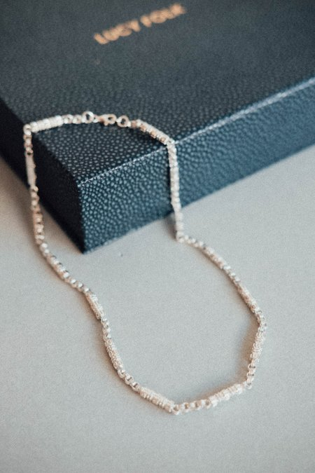 Lucy Folk Immortal Necklace - Silver