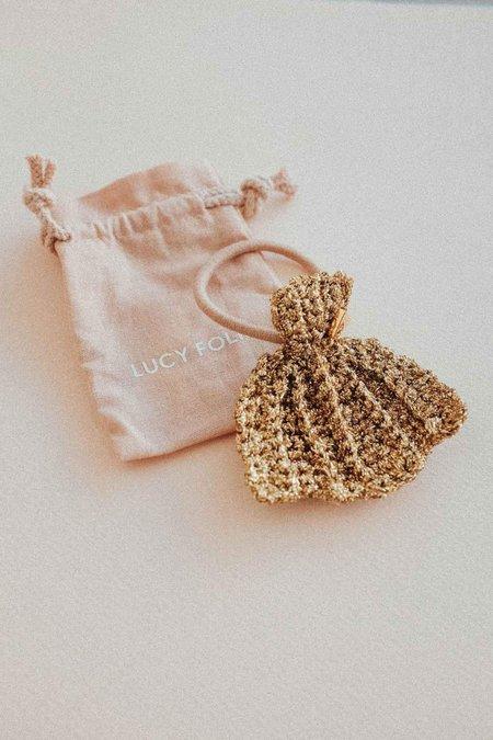 Lucy Folk Venus Fan Shell Hair Tie