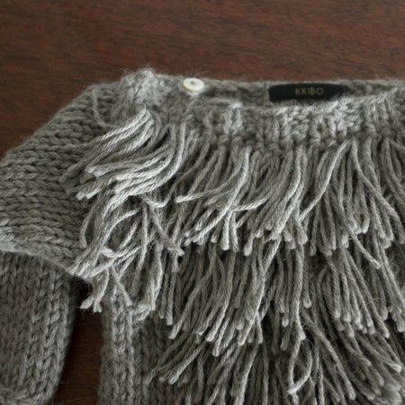 Kids Kkibo Alpaca Fringe Sweater