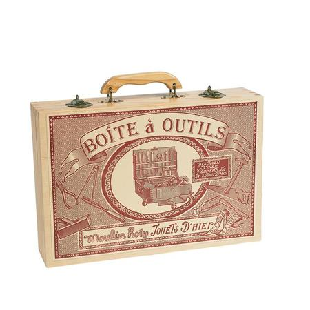 Kids Moulin Roty Boite a Outils Large Tool Box Set