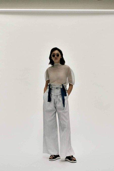 Steven Tai Box Pleat Trousers