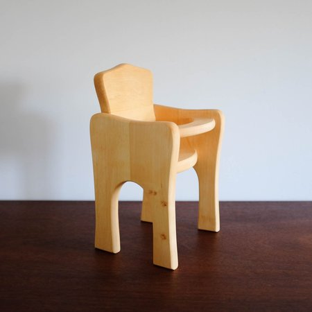 Kids Shop Merci Milo Wooden Doll High Chair