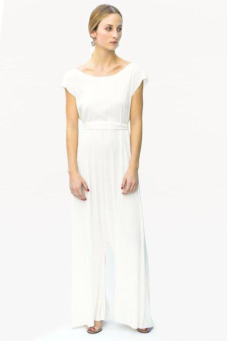 Devore Poole Soltero Jumpsuit - White
