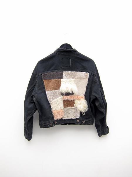 Milena Silvano Patchwork 1 Jean Jacket
