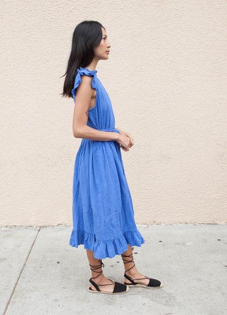 Atelier Delphine Holliday Dress - Cobalt