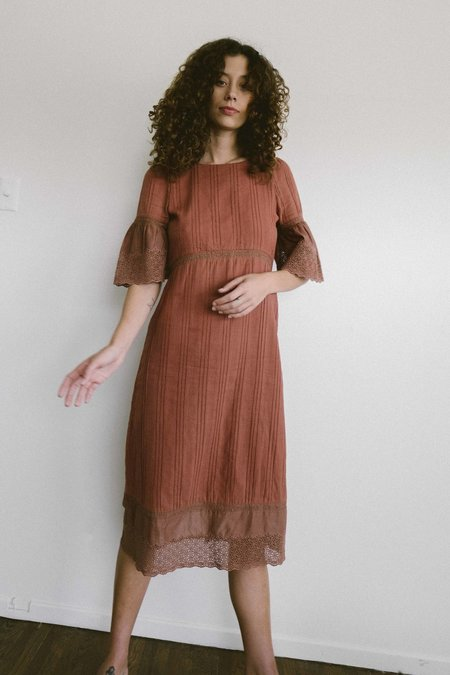 Maria Stanley Coco Dress - Clay