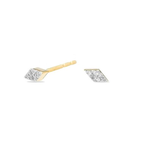 ADINA REYTER SUPER TINY PAVE DIAMONDS POST