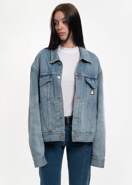 Ambush Padlock Denim Jacket - Blue