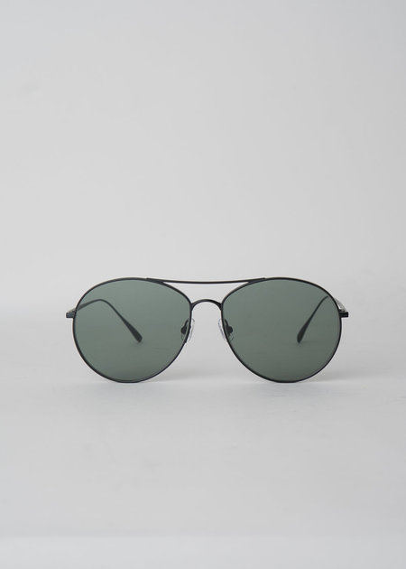 Gentle Monster Ranny Ring M01 Sunglasses - Black/Green