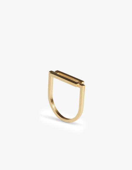 The Boyscouts Rivet Ring - Gold