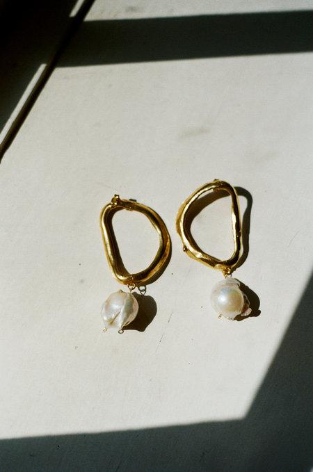 Alighieri Dante's Shadow Earrings