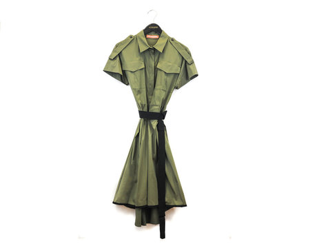 Smarteez Army Shirt Dress