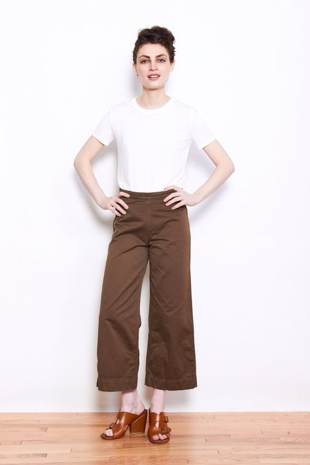 Ali Golden Twill Pant - Mud