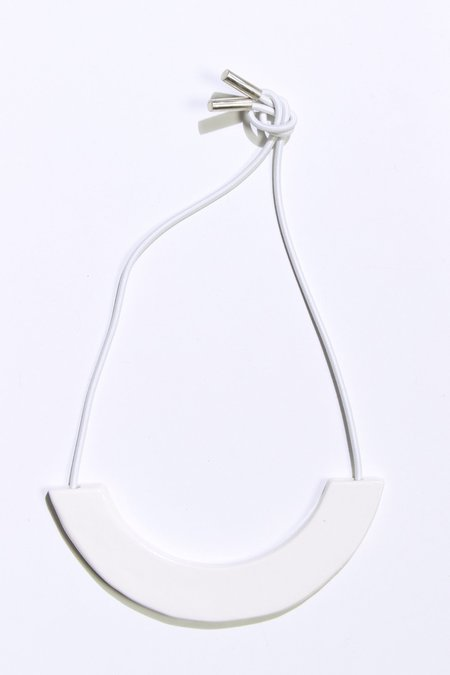 ARC Objects Barely Morning Necklace - WHITE