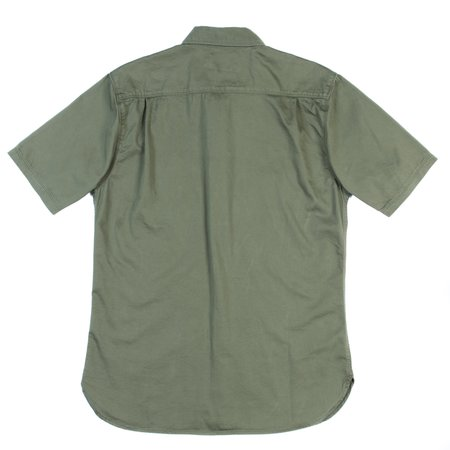 Freenote Cloth Freenote Parker Short Sleeve Shirt - Cedar Green