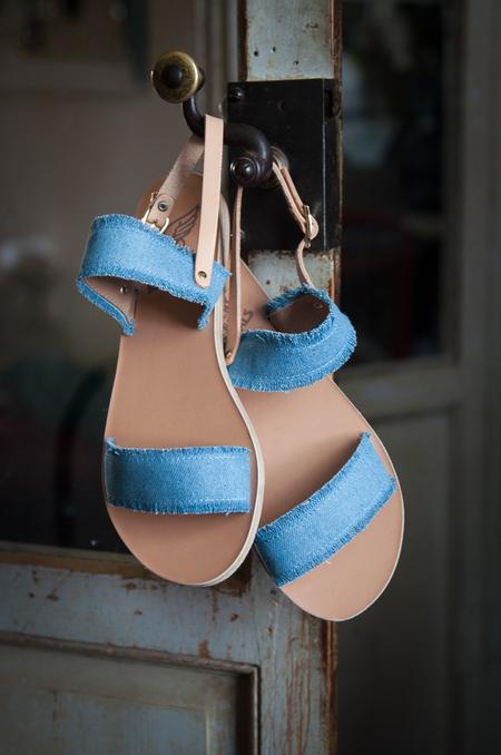 Ancient Greek Sandals Clio Sandals - Denim