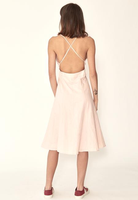 Capulet Simona Wrap Dress - Blush