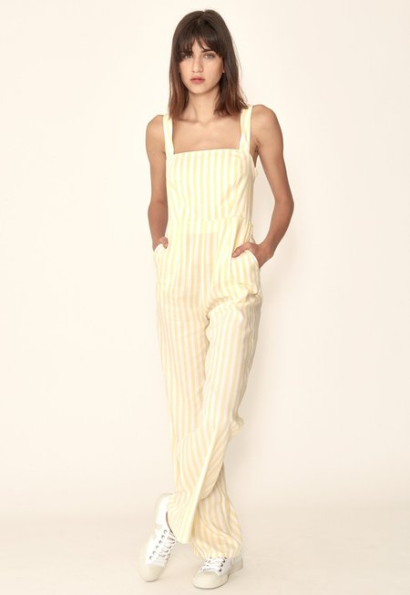Capulet Vienne Jumpsuit - Yellow Stripes