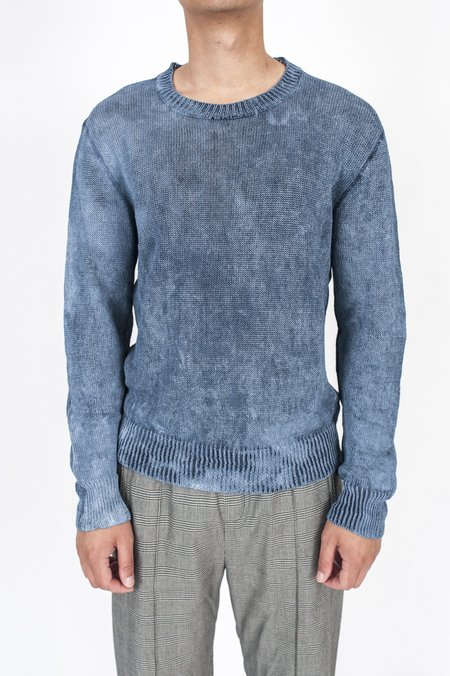 Our Legacy Base Roundneck Sweater - Painted Blue