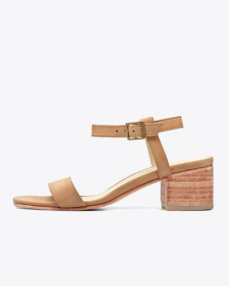 Nisolo Lucia Block Heel Sandal - Sand