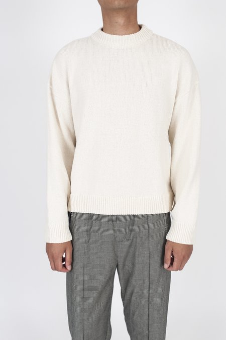 Our Legacy Sonar Roundneck Sweater - White