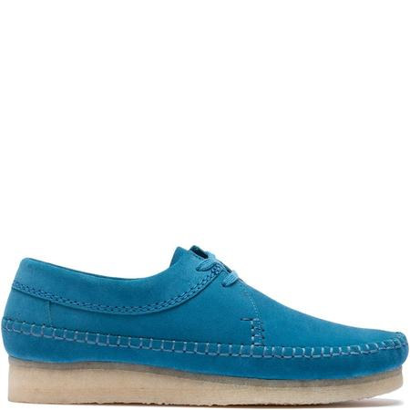 Clarks Originals Weaver Suede - Ocean Blue